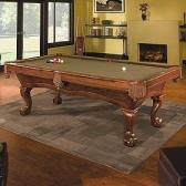 Brunswick Brae Loch 4' x 8' Slate Pool Table